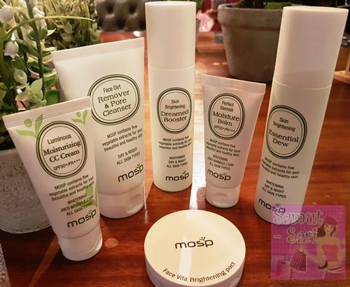 MOSP Philippines Skin Care and Maquillage Old Packaging