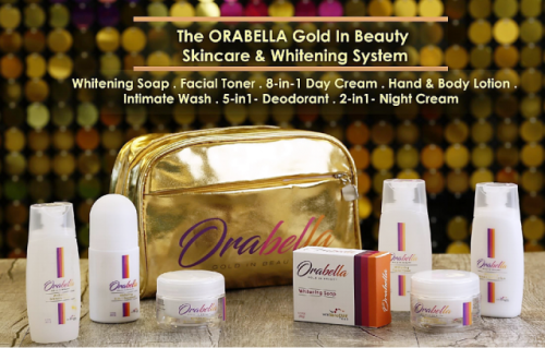 Orabella Gold in Beauty Skincare and Whitening System products