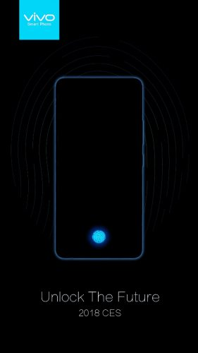 Vivo In-Display Fingerprint Scanning Smartphone