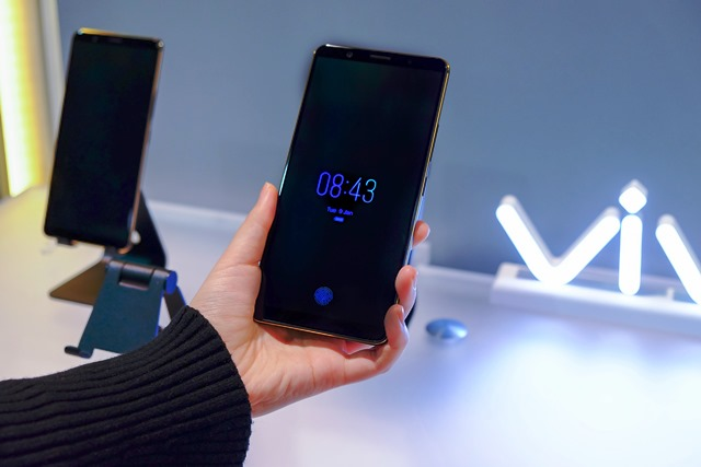 Vivo In-Display Fingerprint Scanning Technology