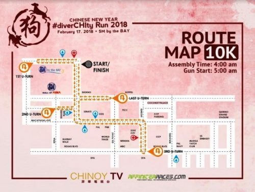 DiverCHIty 10k route map