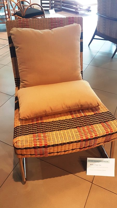 Philippines International Furniture Show - CALFURN BORDEAUX SLIPPER CHAIR - Calfurn Manufacturing Phils