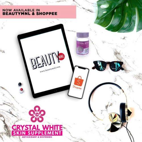 Crystal White Gluta Whitening Tablet