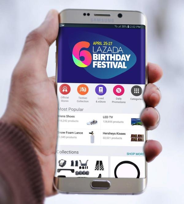Lazada Birthday Festival Sale