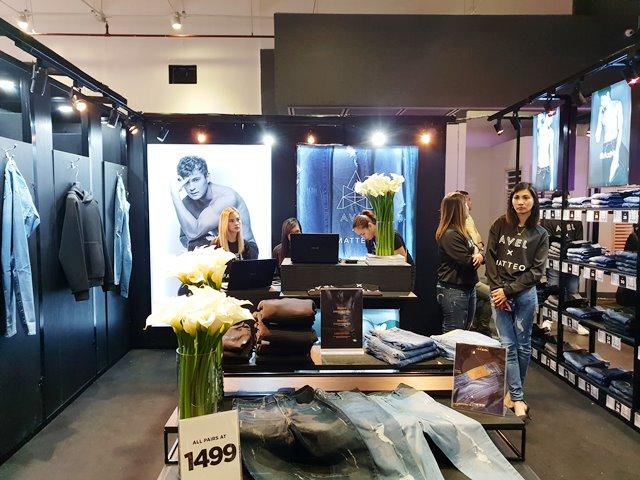 Shopee Celebrity Club featuring AvelXMatteo denim brand