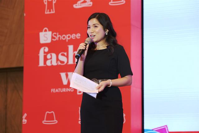 Shopee Fashion Week Up To 95% Off The Hottest Fashion Items Director of Shopee Philippines Jane Lim