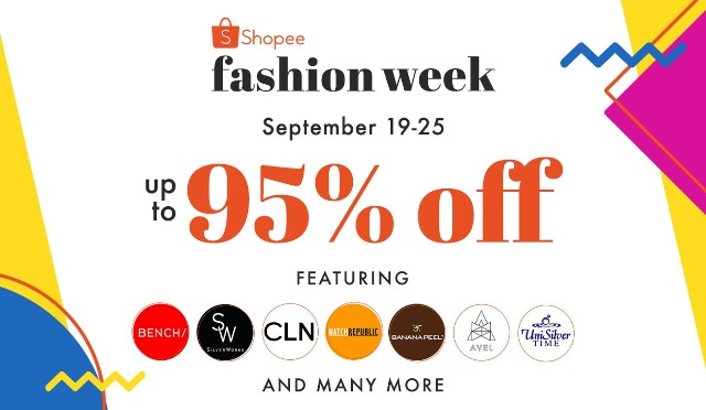 Shopee Fashion Week Up To 95% Off The Hottest Fashion Items