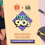 Anne Curtis' blk to the 90's Collection Launch + 10.10 Mega Flash Sale on Shopee