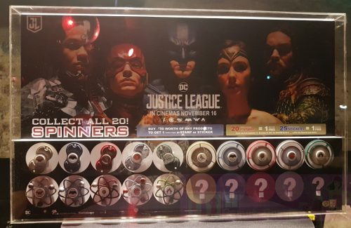 7-Eleven Special Edition Justice League Fidget Spinners