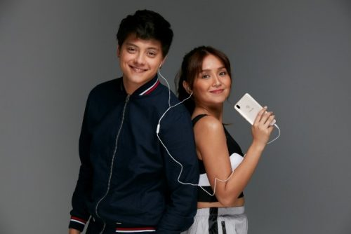 Kathryn Bernardo and Daniel Padilla for VIVO V9