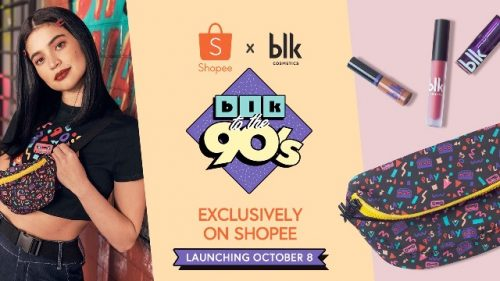Anne Curtis' blk to the 90's Collection on Shopee Launching this Oct 8th!