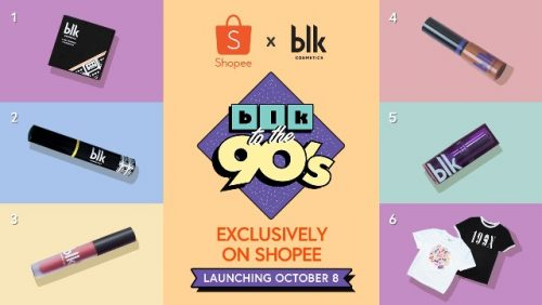 Anne Curtis blk to the 90's Collection on Shopee Launching this Oct 8th!