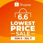 Shopee 6.6 - 7.7 Lowest Price Sale