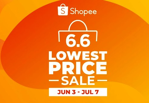 Shopee 6.6 - 7.7 Lowest Price Sale