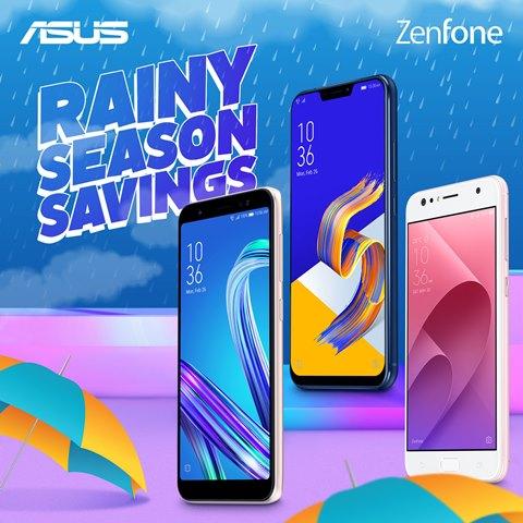 ASUS Philippines Zenfone RAINY SEASON SAVINGS