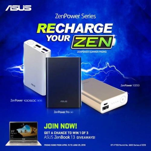 Recharge Your ZEN Promo