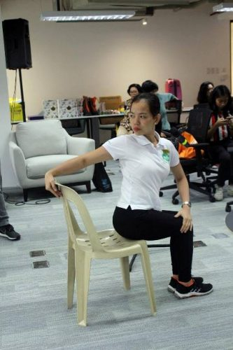 Chair Yoga Healthway Medical