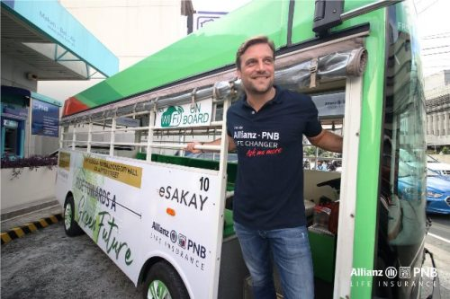 Allianz PNB eSakay E-Jeepney