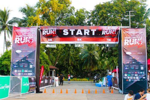 Shake, Rattle & Run Starting Line
